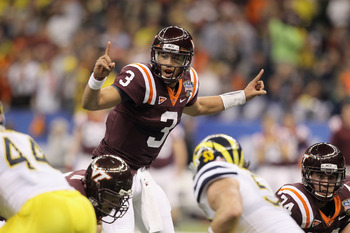 Virginia Tech QB Logan Thomas (3)