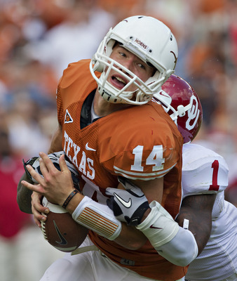 Classic rivalries like Oklahoma vs. Texas would remain.