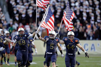The annual Army/Navy game becomes a divisional tilt.