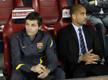 Tito Vilanova, in Pep's shadow no longer.
