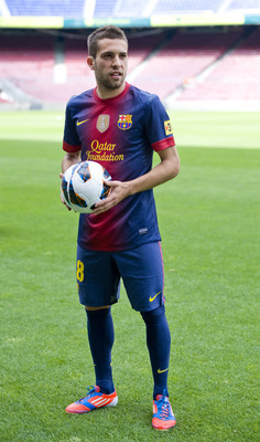 Jordi Alba will be a key part of the new back four.