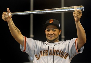 Melky Cabrera left his reputation in San Francisco.