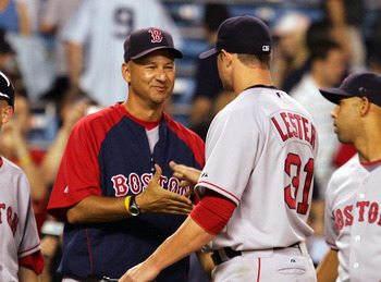 Ah, the yesteryears. Lester and Francona must both be longing for these days again.