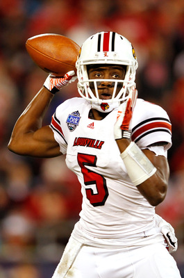 Teddy Bridgewater has gained 40 lbs. since he has stepped on campus 2 years ago.