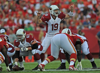 Is John Skelton now the favorite to win the Cardinals' starting quarterback job?