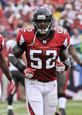 Will Akeem Dent hold onto the Falcons' middle linebacker spot all season?