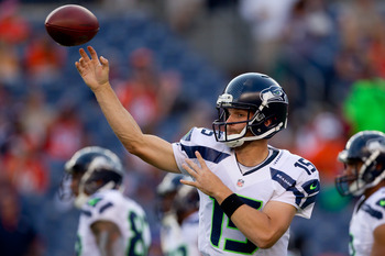 Will Matt Flynn be the Week 1 starter for the Seahawks?