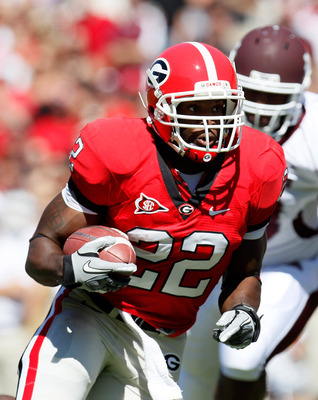 Georgia RB Richard Samuel