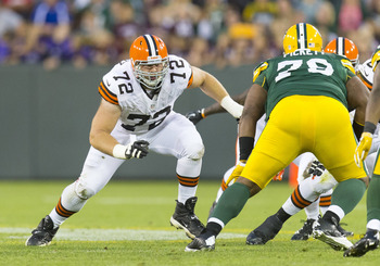 OT Mitchell Schwartz is going to be an important cog in the Browns offensive line.