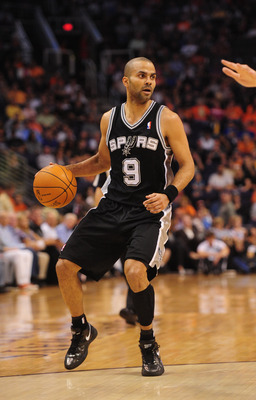 You can't blink when you're watching Tony Parker.