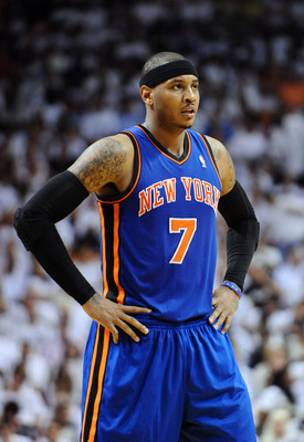 You never know when Carmelo Anthony is going to explode.