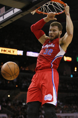 Any bets on who Blake Griffin posterizes next?