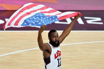 No player benefited more from winning the gold medal than James