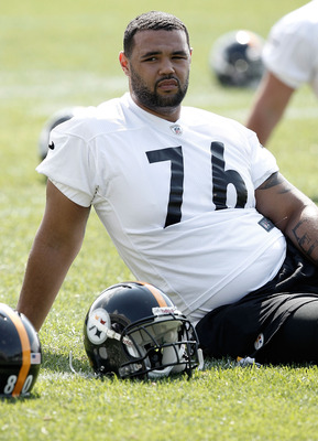 Steelers second round pick Mike Adams is having a hard time adjusting to the NFL so far.