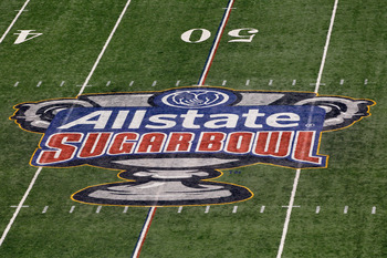 Michigan went to the BCS Allstate Sugar Bowl, despite failing to win Big Ten or Legends title