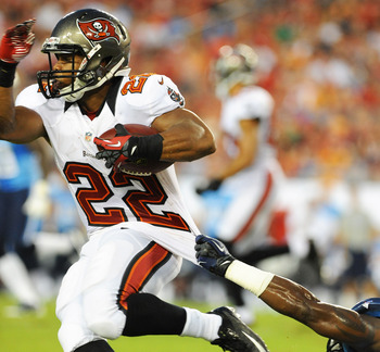 Rookie Doug Martin will be a challenge to bring down.