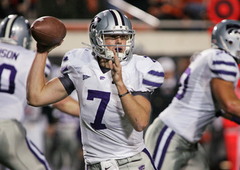 Collin Klein is a legitimae contender for the Heisman Trophy in 2012.