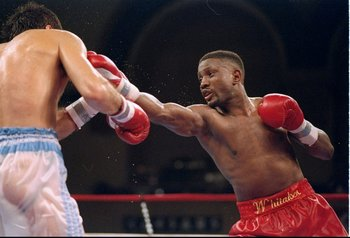 """Sweet Pea"" was one of the greatest defensive fighters of all time."