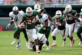 Yes, Storm Johnson the former Cane is ready to burst back on the national radar among the non-AQs