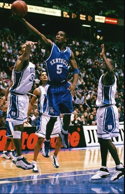Wayne Turner leads UK to victory over Duke in the 1998 NCAA Tournament