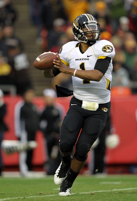 Missouri QB James Franklin will try to knock off the Tide late in the SEC schedule.