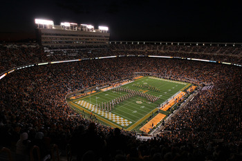It's never easy to take home away from Neyland Stadium.