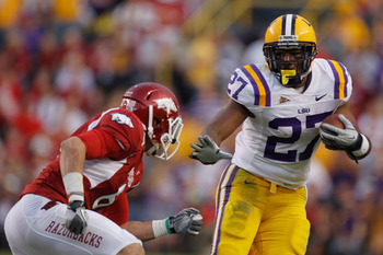 LSU returns Kenny Hillard, who plays Alabama Nov. 3.