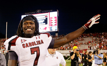 Jadeveon Clowney is one of the best D-linemen in the country...and he's a sophomore.