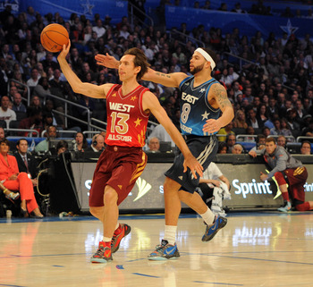 Steve Nash Playing in the All-Star Game