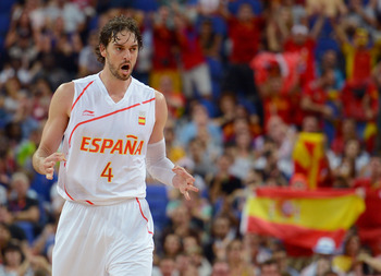 Pau Gasol in the 2012 Olympics