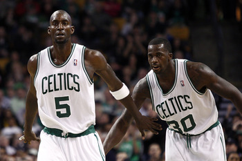 Even Kevin Garnett wants Brandon Bass to back off and stop holding him back.