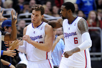 Just look at the love between DeAndre Jordan and Blake Griffin.