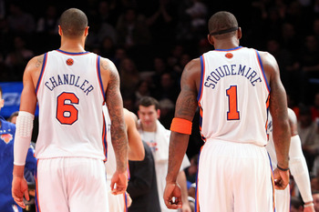 Amar'e Stoudemire and Tyson Chandler will be hoping to help the Knicks win more than just one playoff game.