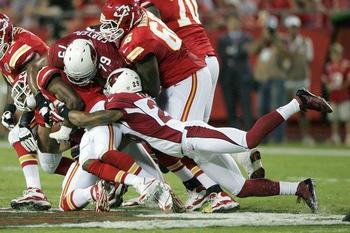 Jamell Fleming helps out on a tackle. (AZCardinals.com)