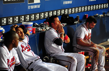 The Braves were left searching for answers at the end of the season.