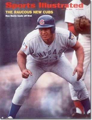 Ron Santo courtesy of carnageandculture.blogspot.com.