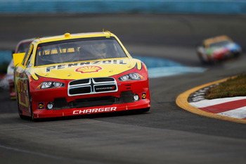 Sam Hornish Jr. finished 12th at Michigan