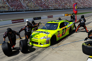 Paul Menard finished ninth at Michigan