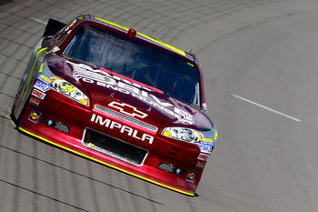 Jeff Gordon finished 28th at Michigan