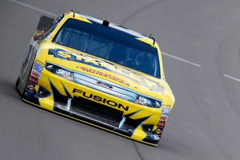 Marcos Ambrose finished fifth at Michigan