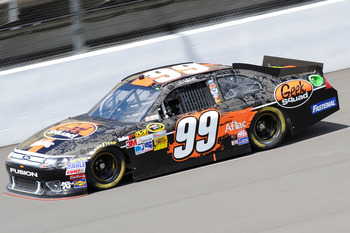 Carl Edwards finished sixth at Michigan