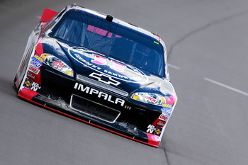 Kevin Harvick finished 16th at Michigan