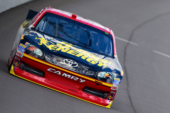 Clint Bowyer finished seventh at Michigan