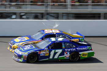 Matt Kenseth finished 17th at Michigan