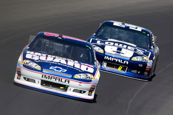 Dale Earnhardt Jr. finished fourth at Michigan