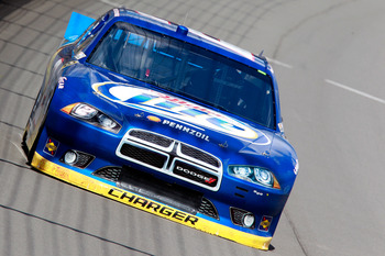 Brad Keselowski finished second at Michigan