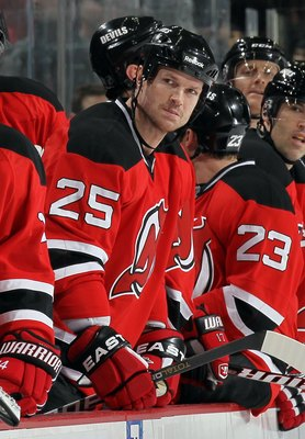 Jason Arnott as a Devil in 2010