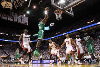 Assuming a healthy recovery from heart surgery, Jeff Green will be able to keep up with Rondo on the break.