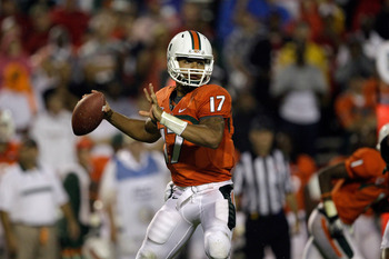 It's Stephen Morris' time to shine as a first time starter for the 'Canes.