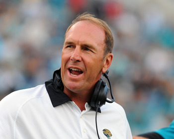 Mularkey went from the verge of getting fired in Atlanta to coaching the Jaguars.